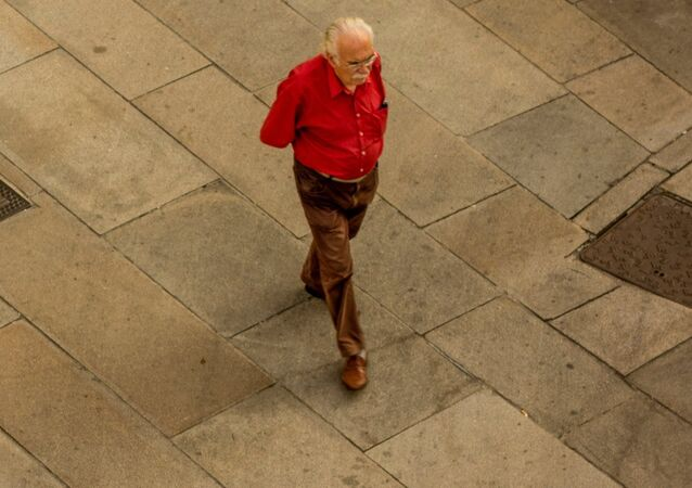 Un anciano (archivo)