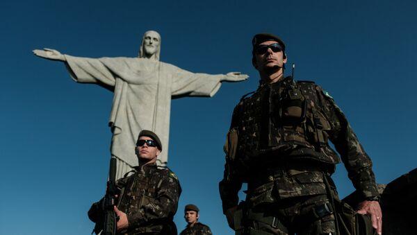 Militares brasileños (archivo) - Sputnik Mundo
