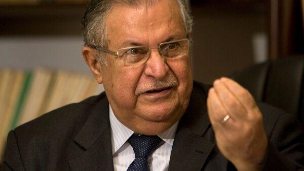Yalal Talabani, líder kurdo y expresidente de Irak - Sputnik Mundo