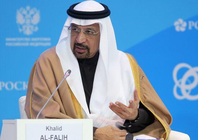 Khalid Falih, inistro saudí de Energía (archivo)