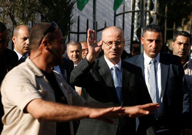 Rami Hamdallah, el primer ministro palestino