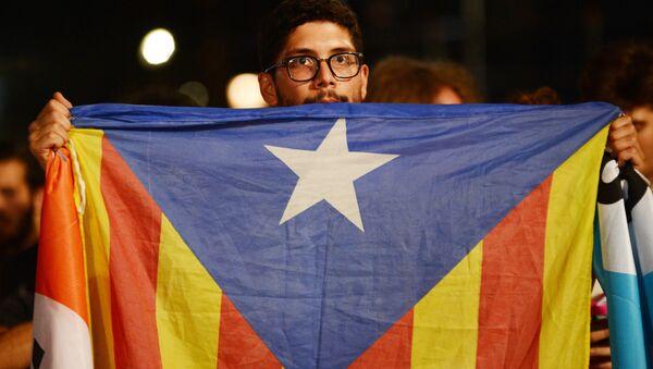 La bandera de Cataluña - Sputnik Mundo