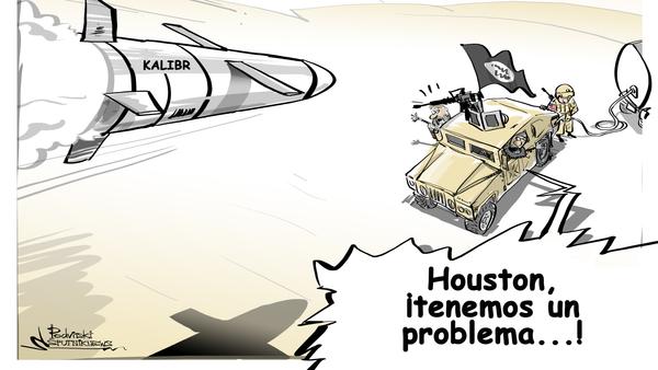 Los misiles Kalibr le aguan la fiesta a Daesh y compañía - Sputnik Mundo