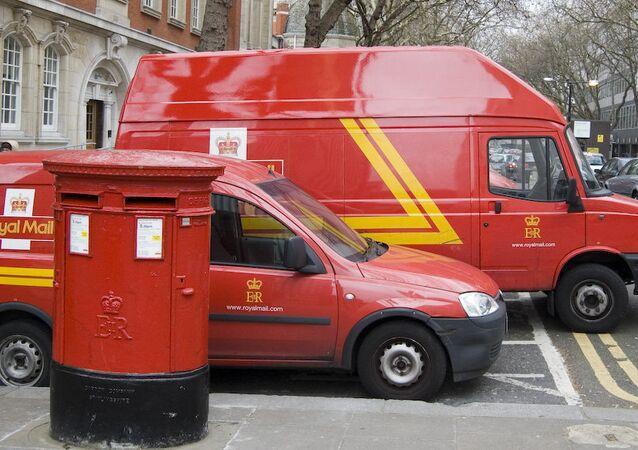Las furgonetas de Royal Mail