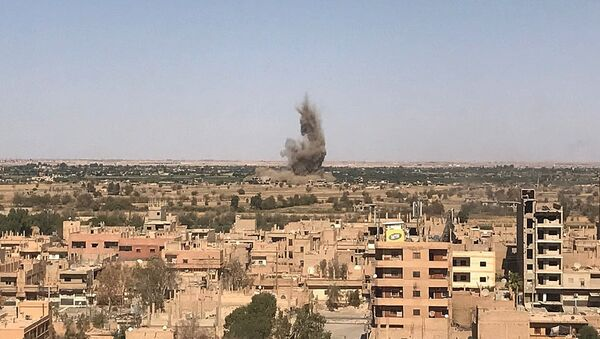 Situación en Deir Ezzor, Siria (archivo) - Sputnik Mundo
