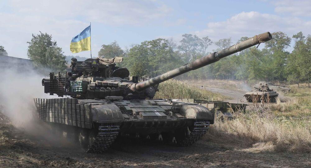 Tanque ucraniano (imagen referencial)