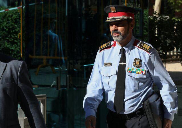 Josep Lluís Trapero, el jefe de la policía autonómica catalana