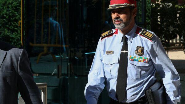 Josep Lluís Trapero, el jefe de la policía autonómica catalana - Sputnik Mundo