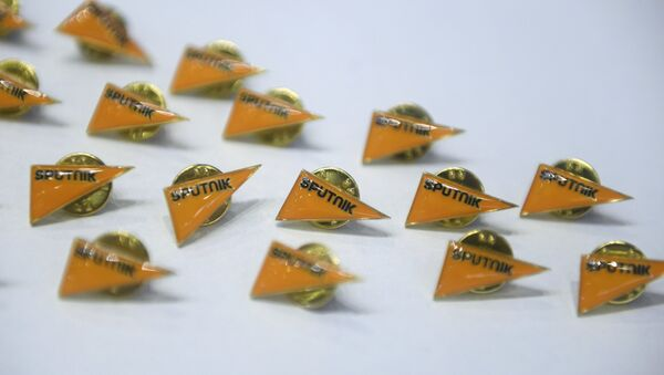 Emblemas de Sputnik (imagen referencial) - Sputnik Mundo