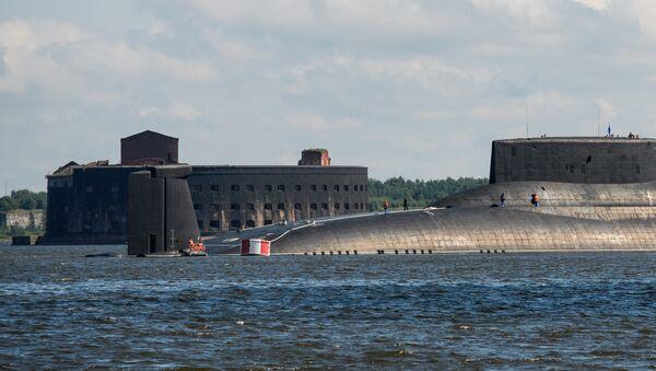 El submarino Dmitri Donskoi - Sputnik Mundo