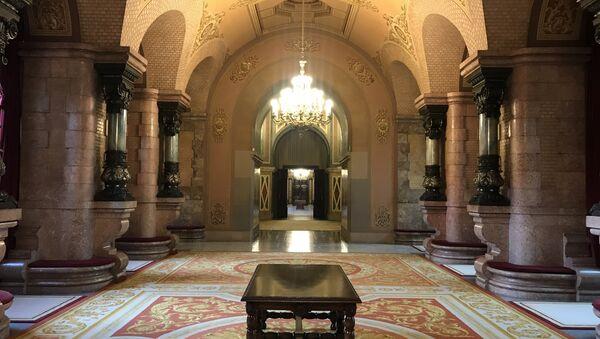 El interior del Parlamento de Cataluña - Sputnik Mundo
