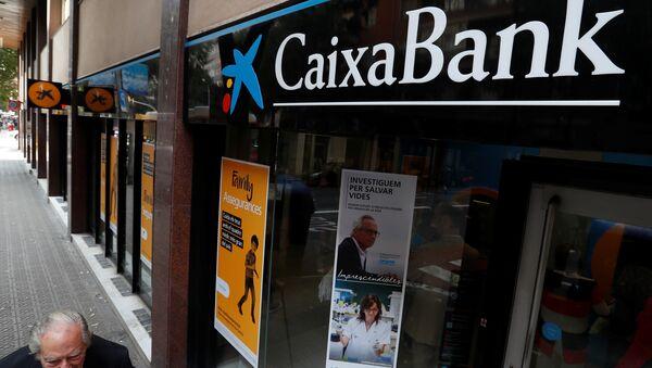 CaixaBank en Barcelona - Sputnik Mundo