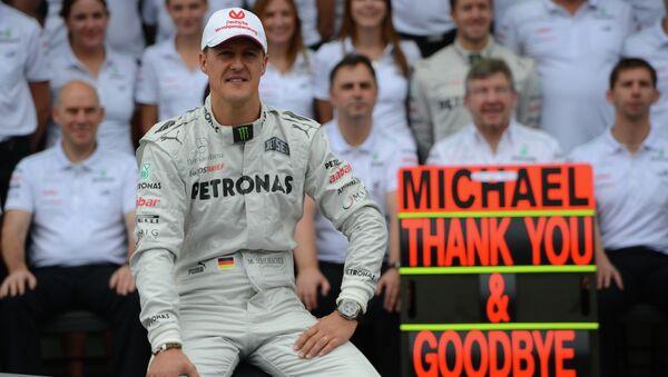 German Formula One driver Michael Schumacher - Sputnik Mundo