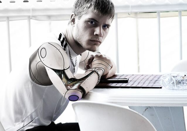 Un cíborg (imagen referencial)