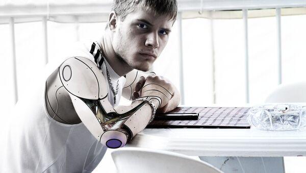 Un cíborg (imagen referencial) - Sputnik Mundo