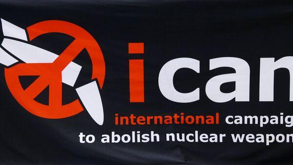 Logo de ICAN - Sputnik Mundo