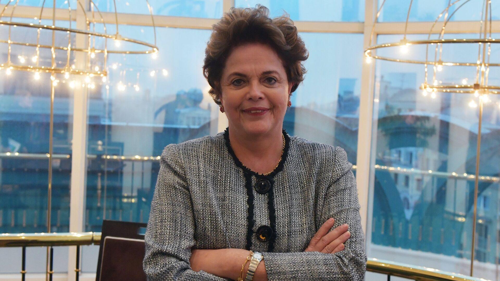 La exmandataria brasileña Dilma Rousseff - Sputnik Mundo, 1920, 17.06.2021