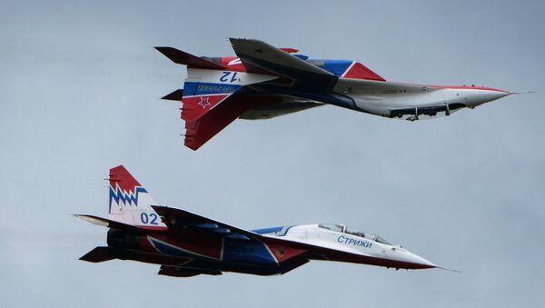 Los aviones rusos MiG-29 - Sputnik Mundo