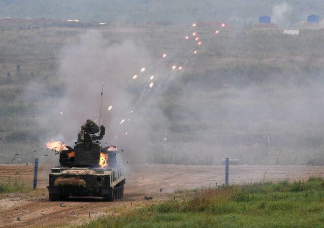 Sistema antiaéreo autopropulsado Tunguska