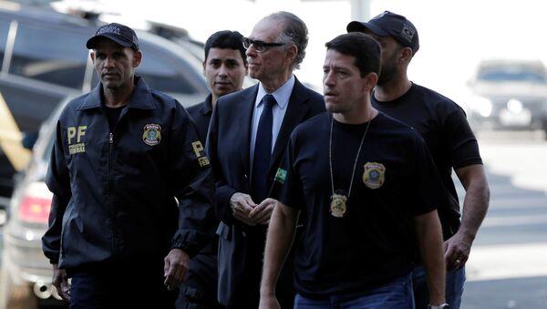 Carlos Arthur Nuzman, expresidente del Comité Olímpico de Brasil (archivo) - Sputnik Mundo