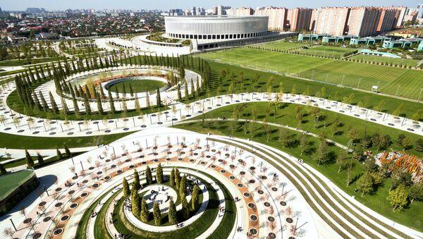 Nuevo parque de la ciudad de Krasnodar, Rusia - Sputnik Mundo