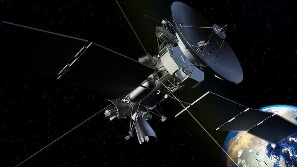 Un satélite (imágen referencial) - Sputnik Mundo