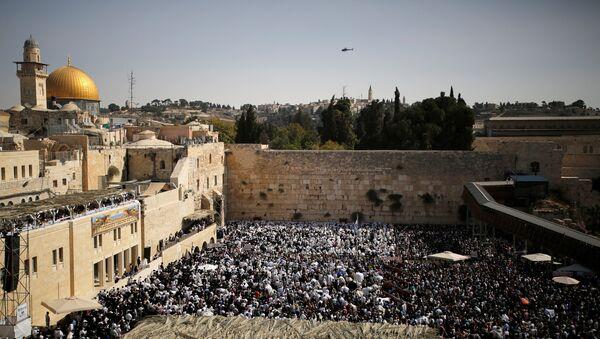 Vista a la Explanada de las Mezquitas de Jerusalén - Sputnik Mundo