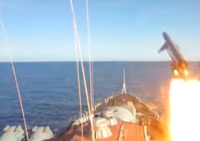 Lanzamiento de un misil