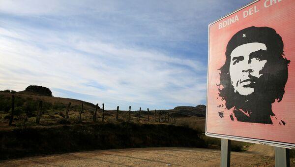 El retrato del 'Che' en la Higuera, Bolivia - Sputnik Mundo