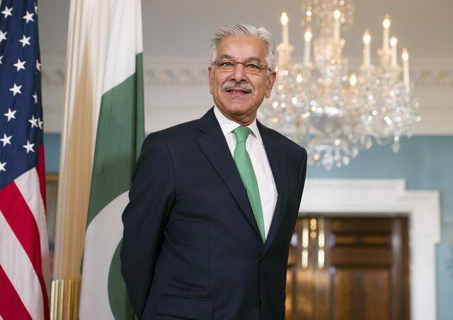 Khawaja Asif, ministro de Asuntos Exteriores de Pakistán