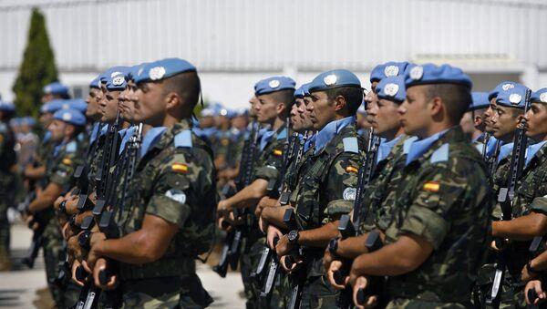 Cascos azules de la ONU - Sputnik Mundo