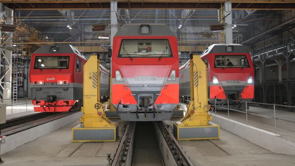 Locomotoras (imagen ilustrativa) - Sputnik Mundo