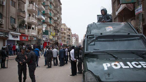 La policia de Egipto - Sputnik Mundo