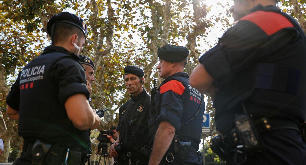 Los Mossos d'Esquadra, la policía autonómica catalana (archivo)