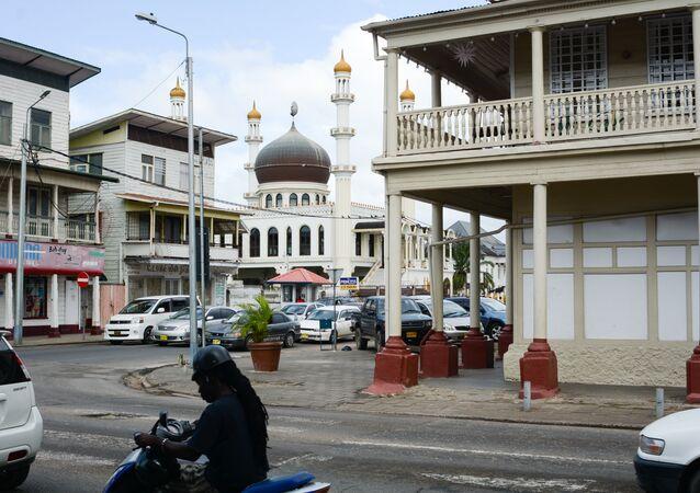 Paramaribo, la capital de Surinam