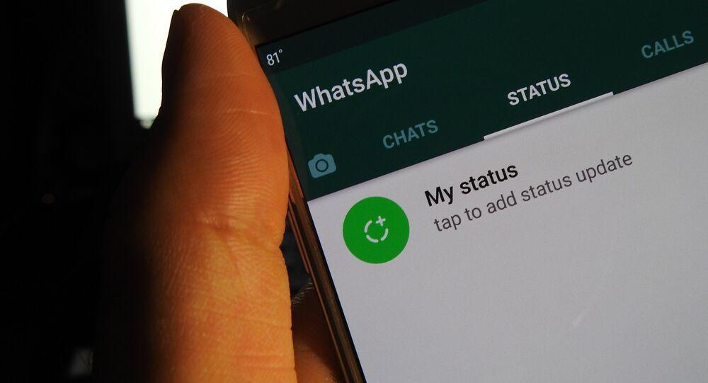 Servicio de mensajería instantánea WhatsApp