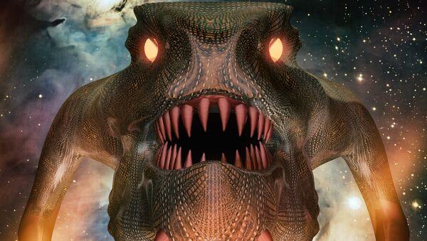 Un monstruo (ilustración) - Sputnik Mundo