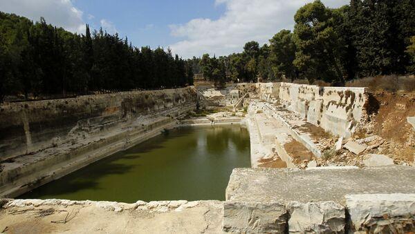 Las antiguas piscinas de Salomón, Palestina - Sputnik Mundo