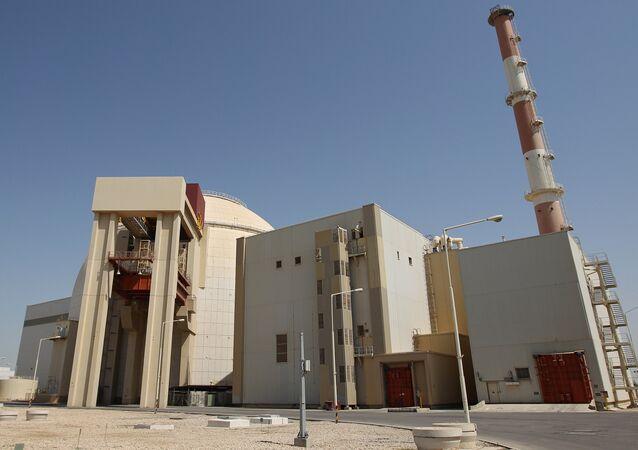 Planta nuclear en Irán
