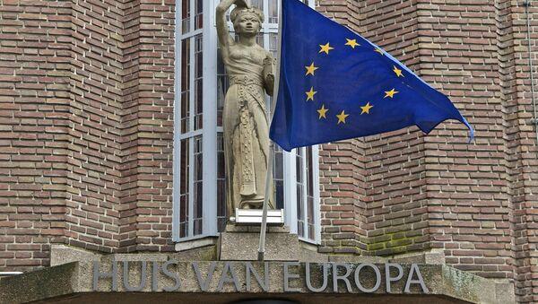 La bandera de la Unión Europea - Sputnik Mundo