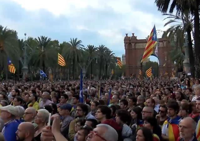 Las voces tras el discurso de Puigdemont