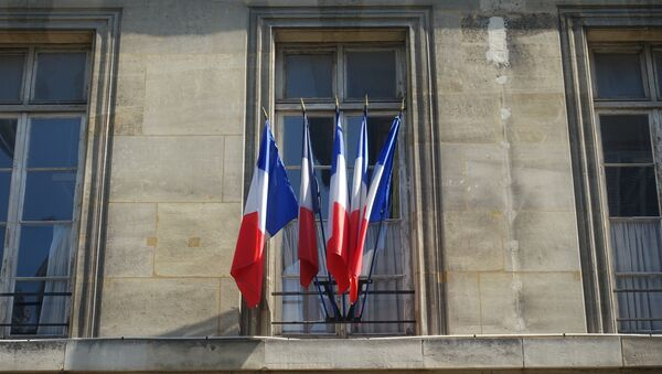 Banderas de Francia - Sputnik Mundo