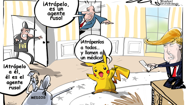 CNN declaró que Rusia intervino en los asuntos internos de EEUU mediante el uso de Pokémon Go - Sputnik Mundo