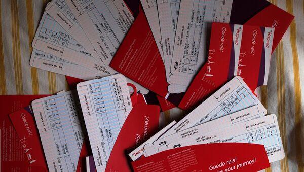 Billetes de avión - Sputnik Mundo