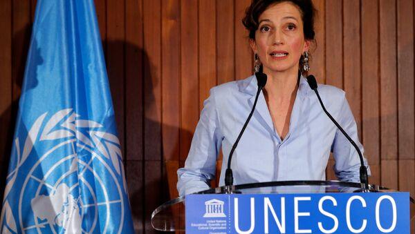 Audrey Azoulay, nueva directora general de la Unesco - Sputnik Mundo