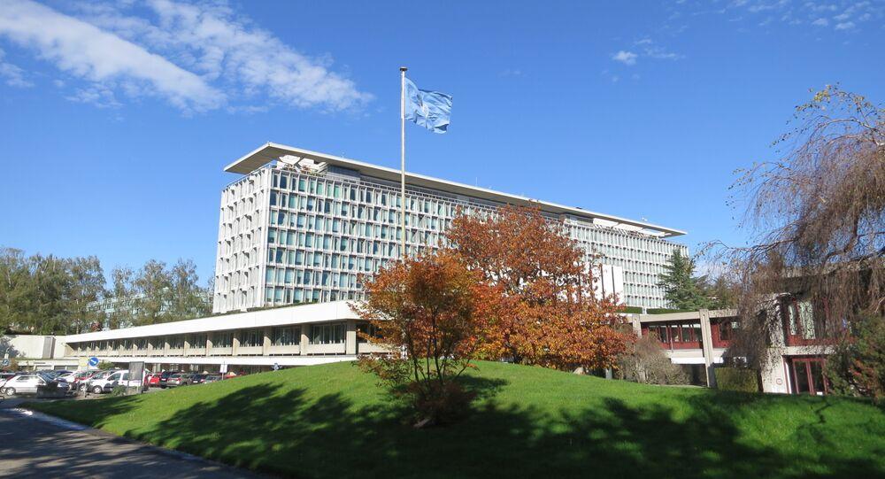 Sede de la Organización Mundial de la Salud en Ginebra