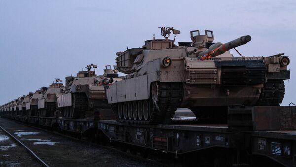 Los tanques de la OTAN - Sputnik Mundo