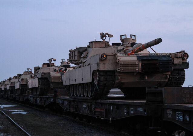 Los tanques de la OTAN