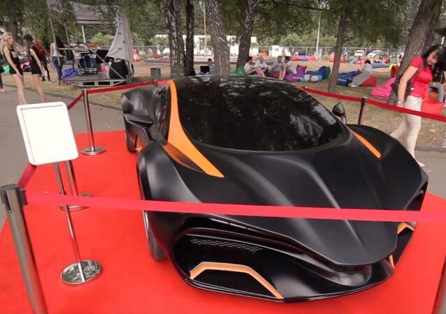 Un automóvil superdeportivo ucraniano 'Himera Q'