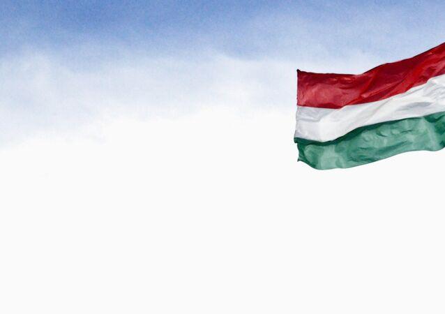 Bandera de Hungría (imagen referencial)